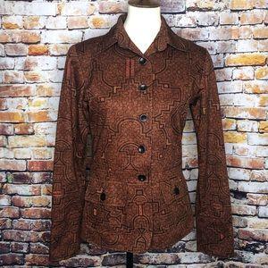Peruvian Connection 100% Pima Cotton Blazer